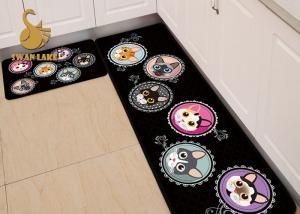 China Animal Design Washable Kitchen Rugs Anti Slip OEM / ODM Available on sale