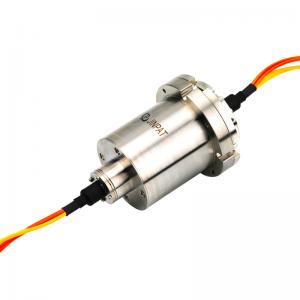 China 7 Channel Fiber Optic Rotary Joint with High Return Loss and Optional Connector for Turrets on sale