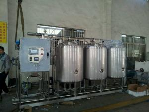 China Coconut Milk CIP Washing System For Water Treatment Improve Product Safety on sale