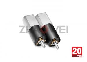 China 28.2mm Length Electric Speed DC Gear Motor 12V For Massager , 20mm Dia on sale