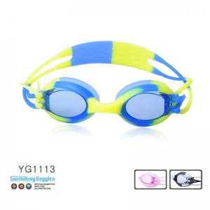 China professional children's swimming goggles with Anti-fog on sale