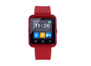 China Red Bluetooth Smart Watches With Touch Screen , Smartphone Watch on sale