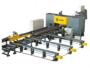 China High Speed CNC H Beam Drilling and Marking Machine Line for Steel Structure Fabrication on sale