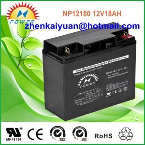China LEAD ACID BATTERY /AGM BATTERY/VRLA  BATTERY/12V18AH on sale