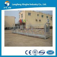 Suspended cradle system ZLP800 hot galvanized steel working platform in Mexico