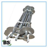 "Hot Dipped Galvanized Helical Anchors 1-1/2"" Square Shaft with Strong Capacity"