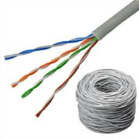 China Outdoor Lan Network Cable CAT6 UTP PVC Jacket FTTH FTTB FTTX Network Application on sale