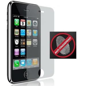 China Anti-Finger print iphone 3GS  screen protector without rainbow mark on sale
