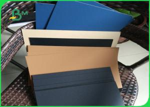 China Lightweight Grey Board Sheets Laminated With White Board / Kraft Paper / Blue Paper on sale
