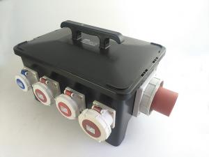 China Safety Portable Power Distribution Center, Heavy Duty Rubber Generator Spider Box on sale