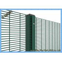 China PVC Coated Woven Wire Mesh Panels Galvanized Core Wire Sturdy For Prison on sale