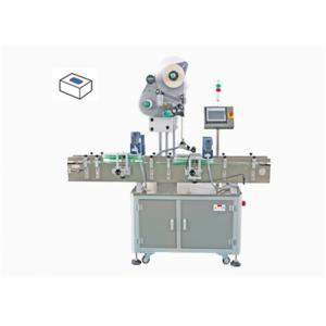 China Upper Surface Automatic Labeling Machine Easy Operation For Bottle Cap / Bottom on sale