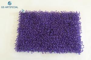 China Purple Milan Artificial Grass Mat / Ornamental Artificial Hanging Plants on sale