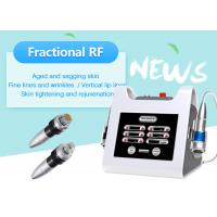 Portable Fractional RF Microneedle Machine for Face Lifting / Skin Resurface