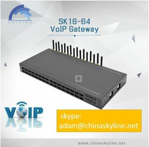 China DISCOUNT FOR CHINA SKYLINE ANTI SIM BLOCKED AND CHANGE IMEI  SK GATEWAY 16-64 PORTS on sale