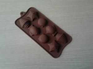 China Eco-friendly Insulated Silicone Baking Moulds 8 holes For Gas Electric Oven on sale