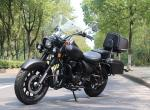 High Powered Kick Start 200cc Chopper Motorcycle with Counterbalance engine
