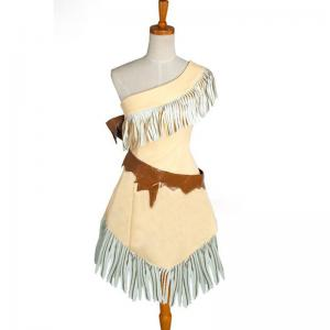 China Princess Dress Wholesale Custom Made Pocahontas Indian Princess Dress Costume Cosplay on sale