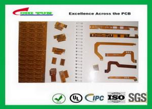 China Single Sided  Flexible Circuit Boards Yellow Prototypes and Production on sale