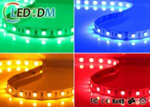 China SMD 5050 WRGBY Flexible Led Strip Light 80 CRI For Home Decoration on sale