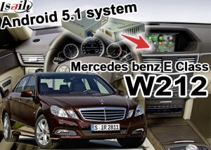 Android GPS Car Multimedia Navigation System For Mercede benz E