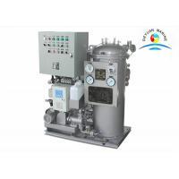 Big Capacity 1.0 M3 / H Bilge Oil Water Separator 15PPM OWS