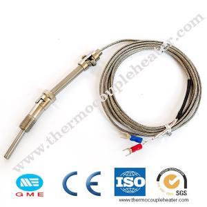 China Thread M6 Screw Probe Temperature Sensor K J Type Thermocouple for PID Controller on sale