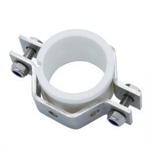 China Durable Ss304 Ss316l Hex Pipe Tube Holder Tri Clamp Pipe Fittings With Seal on sale