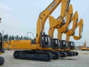 Quality Grue de chenille hydraulique de ³ du diesel 0.34m XCMG XE80 pour la construction for sale