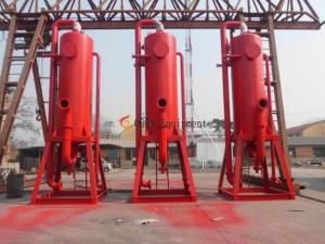 China Poor Boy Mud Liquid Gas Separator for City Tunnelling boring system & Oil Gas drilling system on sale