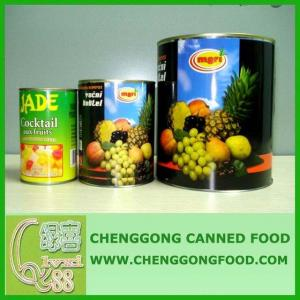 China Canned Fruit Cocktails on sale