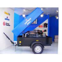 Portable Screw Air Compressor , Diesel Engine Hole Drilling Air Pressure Compressor