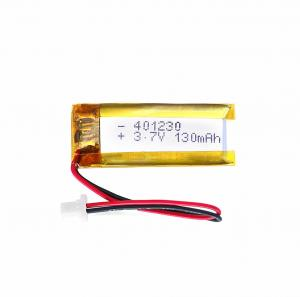 China 401230 Miniature Lithium Polymer Battery Environmental Friendly High Energy Density on sale