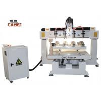 China CA-1225 Best sale 4 axis rotary wood carving cnc router for sale on sale
