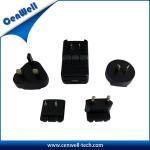 China cenwell 12v 1a universal travel adapter with usb charger wholesale