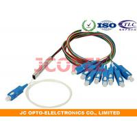 FTTH Fiber Optic Splitter / PON EOC Micro 1x8 Optical Splitter Telcordia 1221