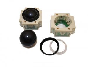China Big 50MM Diameter Wireless Trackball Pointing Device With Pin For Marine on sale