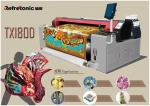 Machine d'impression réactive de sublimation de 4 couleurs 34.5sq. M par heure