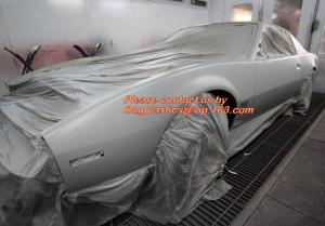 China Car shielding protective film, Coreless auto paint masking film, Auto Paint Masking Film with Paper Core, HDPE Masking on sale