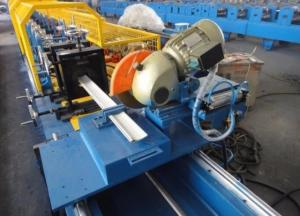 China Pu Shutter Door Roll Forming Machine High Efficiency Corrosion Resistant on sale