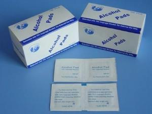 China Disposable alcohol swab alcohol pre pad on sale