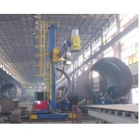 Colonne de 7M*5M et manipulateur de boom pour la soudure lourde de tuyau de chimie d
