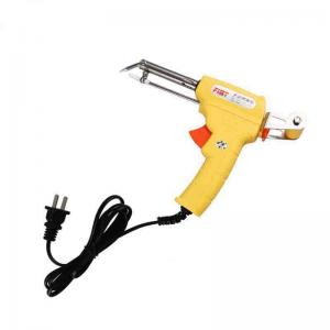 China Self Feed Automatic Electric Soldering Iron Gun Plastic / Metal Material 200-450 Celsius on sale