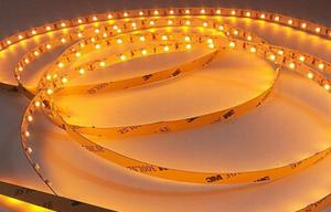 China Yellow color 120pcs/m 3528 SMD LED Strip Light  Warranty 3 Years on sale