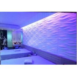 Vinyl 3d Wall Panel Colored PVC Wall Coverings for Indoor Screen ...