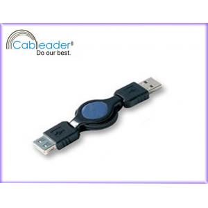 China Cableader USB retractable cable, A male to A female High speed data connecting on sale