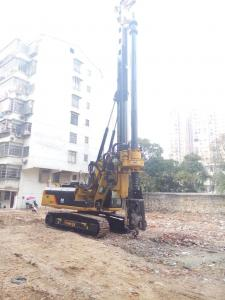 China Foundation Constraction Rotary Hydraulic Piling Rig Equipment with 72m/min Main Winch Line Speed on sale