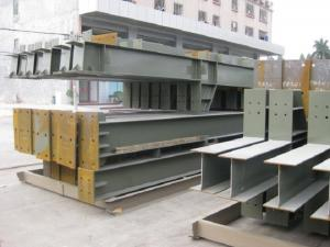 China Customized Warehouse Steel Structure Fabricated For Mineral Plant-Q345B on sale