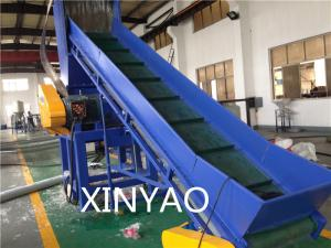 China Belt conveyor Automatic Waste Plastic Recycling Line for recycling PP PE films on sale