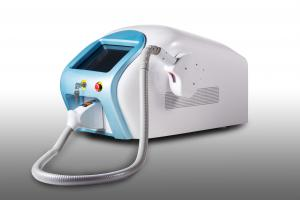 China Portable Blue Color 808nm Diode Laser Hair Removal Machine 10 * 14mm Spot Size supplier
